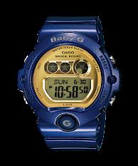 Jam Tangan Wanita Tali Karet  Casio Baby G : BG-169R-3DR