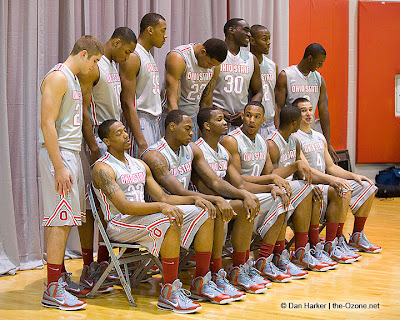 wearing brons ohiostate lebron9 grey 19 Wearing Brons: Whole Buckeyes Team Got Their OSU LBJ9 PEs