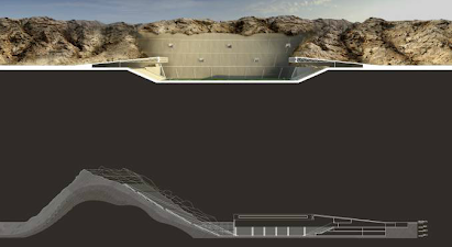 Pictures: The United Arab Emirates plan to build the worlds first Sand Stadium