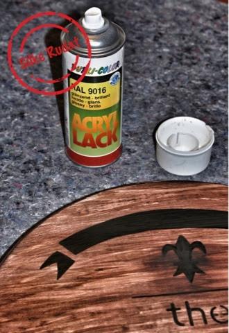 silke rudat der deutsche blog vom whisky fass inspiriertes tablett. Black Bedroom Furniture Sets. Home Design Ideas
