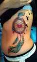 dreamcatcher tattoos on side 6