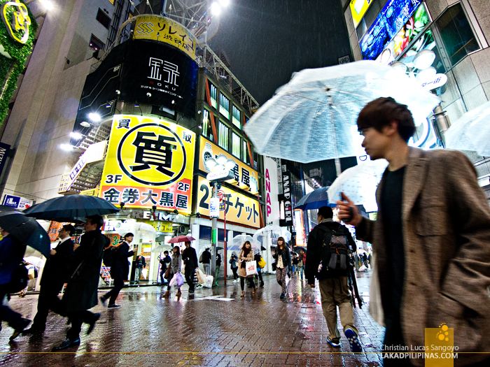 The Sidestreets of Tokyo's Shibuya Crossing