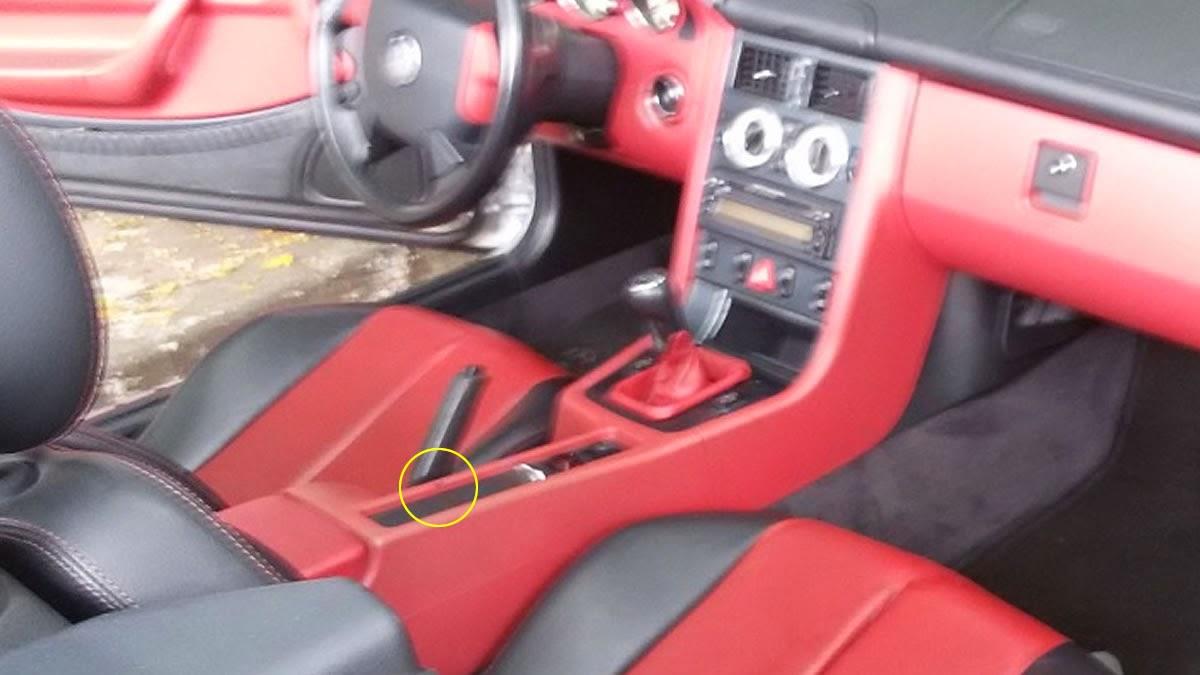 SLK 230 97 Manual interior vermelho 65 mil - VENDIDO SLK_Interior