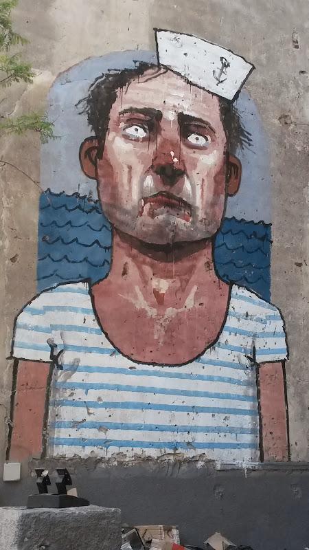 Marinero Solitario, Arte Callejero, Street Art, Rosario, Argentina,  Elisa N, Blog de Viajes, Lifestyle, Travel