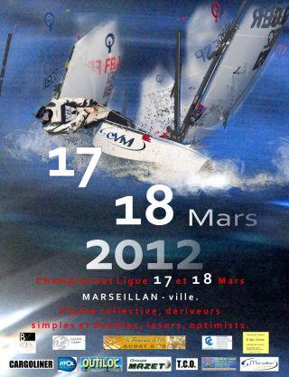 optimist laser pico vago selection Championnat de France Minimes Marseillan