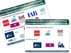 Международные программы профессиональной сертификации в области финансов