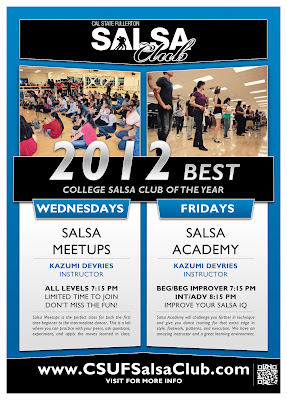 CSUF Salsa Fall Semester Classes