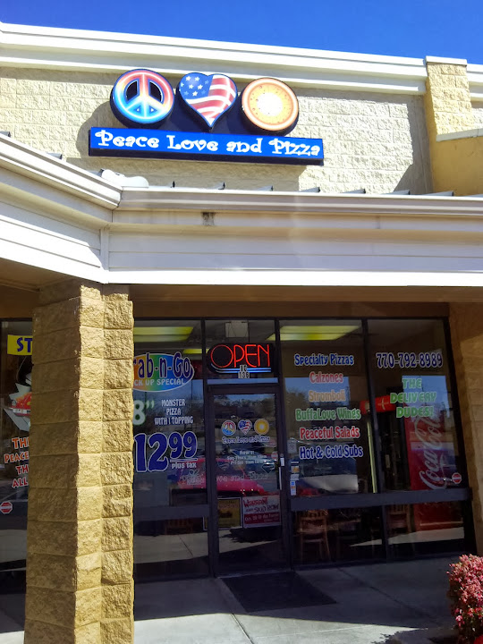 Pizza Restaurant Kennesaw GA | Peace Love and Pizza at 4200 Wade Green Rd, 136, Kennesaw, GA