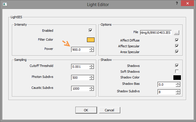 สร้างแสงไฟด้วย IES Light ตอนที่ 1 [ปรับปรุงเนื้อหา ภาพประกอบ และลิงก์ดาวน์โหลด] Ieslight12