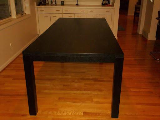 """90"""" x 39"""" Ashton Table in Midnight Oak"""
