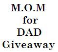 giveaway alert, Father's Day, occasions