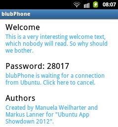 blubPhone da Android