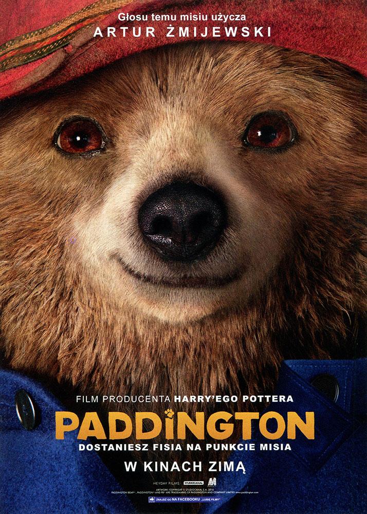 Ulotka filmu 'Paddington (przód)'