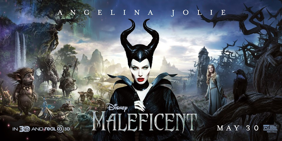 Angelina Jolie is Maleficent #Maleficent