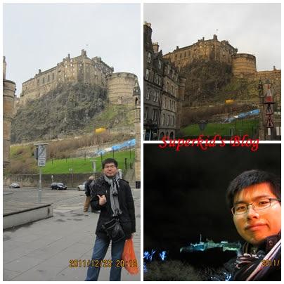 我與愛丁堡城堡