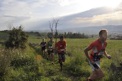 Courir pour des pommes 2011 - La tête au km 4