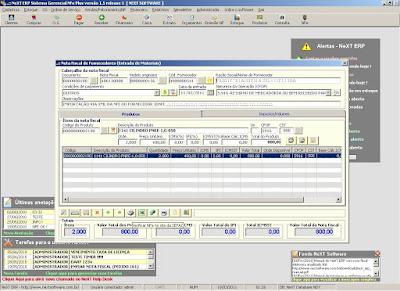 NeXT ERP NFe 2.0 segunda geração