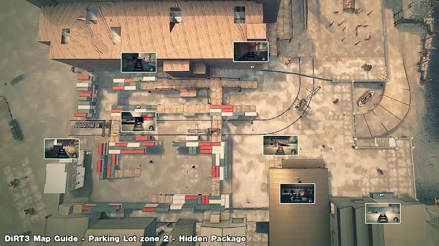 แนะนำตำแหน่งการทำ Mission Object ใน Depot Zone 2 พร้อมแผนที่ MapZone2Hidden