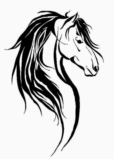 Horse tattoo by Clickroom on DeviantArt