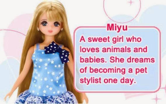 Búp bê Miyu với gương mặt mới xinh xắn đáng yêu, ngây thơ