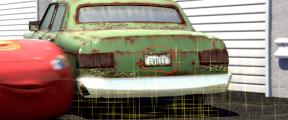 """Les clins d'oeil dans """"Cars"""". Capture+emerville"""