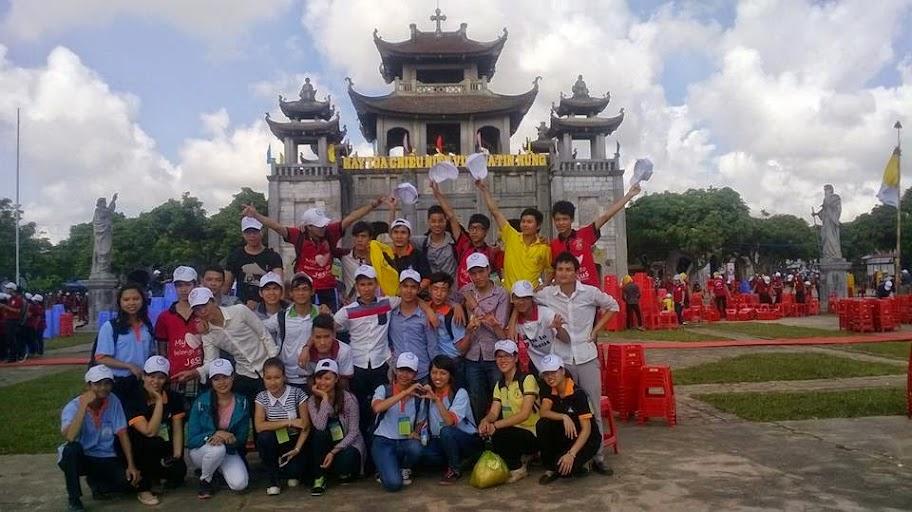 Sinh viên Công giáo giáo phận Hưng Hóa tham dự Đại hội giới trẻ giáo tỉnh Hà Nội năm 2014