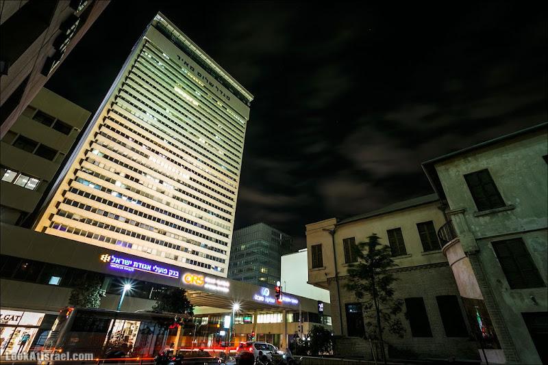 LookAtIsrael.com: Башня (мигдаль) Шалом Меир (israel  черным бело тель авив ночь небоскреб и интересно и полезно Дома Тель Авива выставки музеи фестивали vivAleTelAviv )
