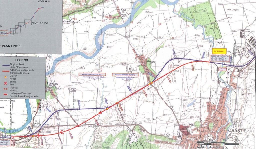 Coridorul IV feroviar in reparatii CF%2520Orastie
