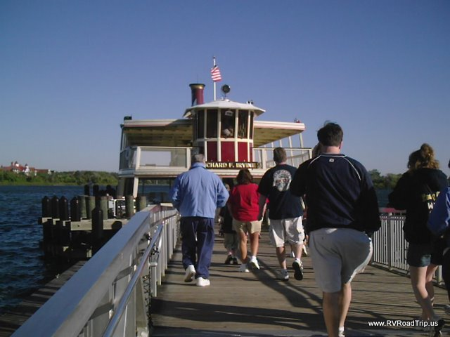 Disney World Ferry