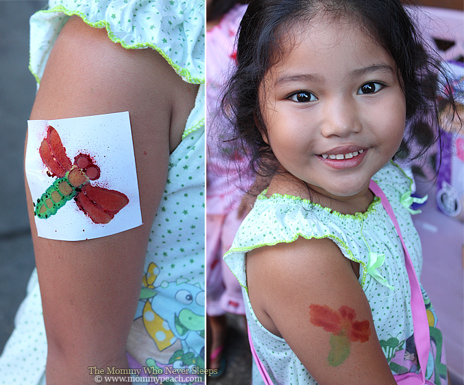 Thank You for the Totally Me! Airbrush Tattoo Toy, Tita Arlene!