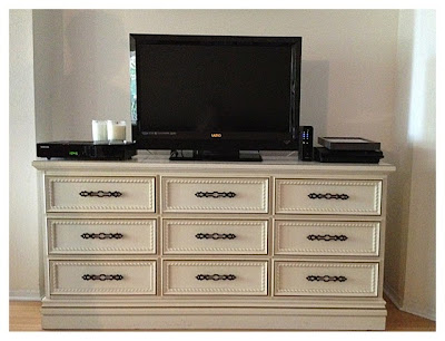 This House Our Home Dresser Turned Tv Stand Part 2