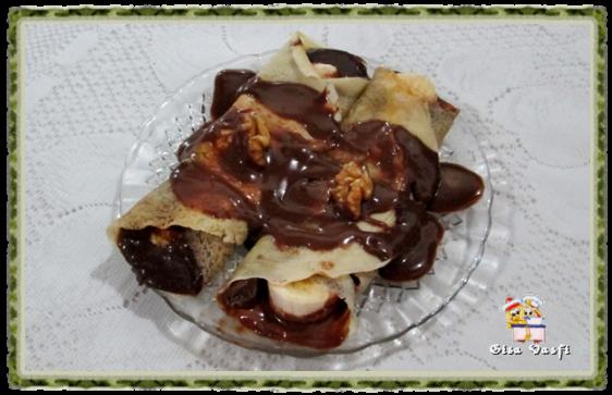 Panqueca de chocolate  2