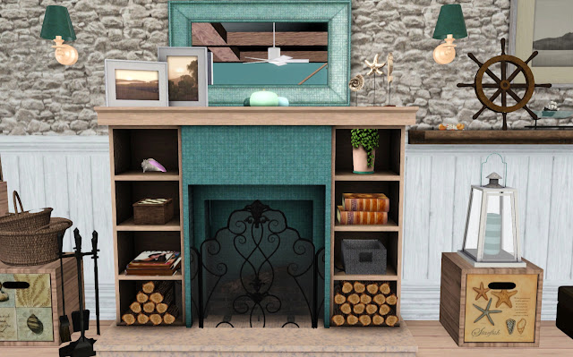Jaguwar - DOTY 2013 - Hampton house fireplace