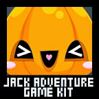 Jack o' Lantern Halloween Adventure Game Kit