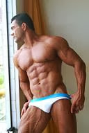 Muscular Men in Sexy White Underwear Part 11