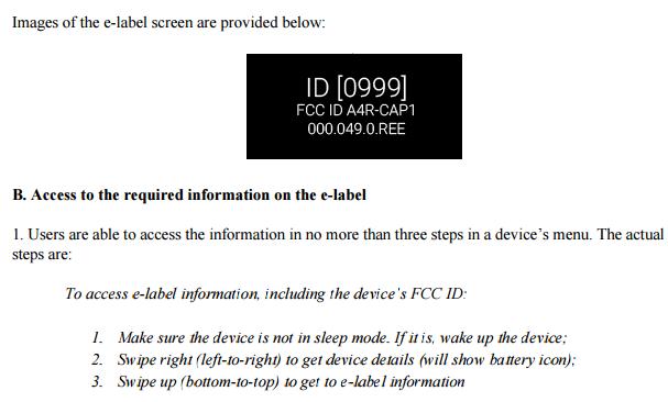 Google Glass FCC