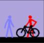 Prohibición de circular por zonas peatonales