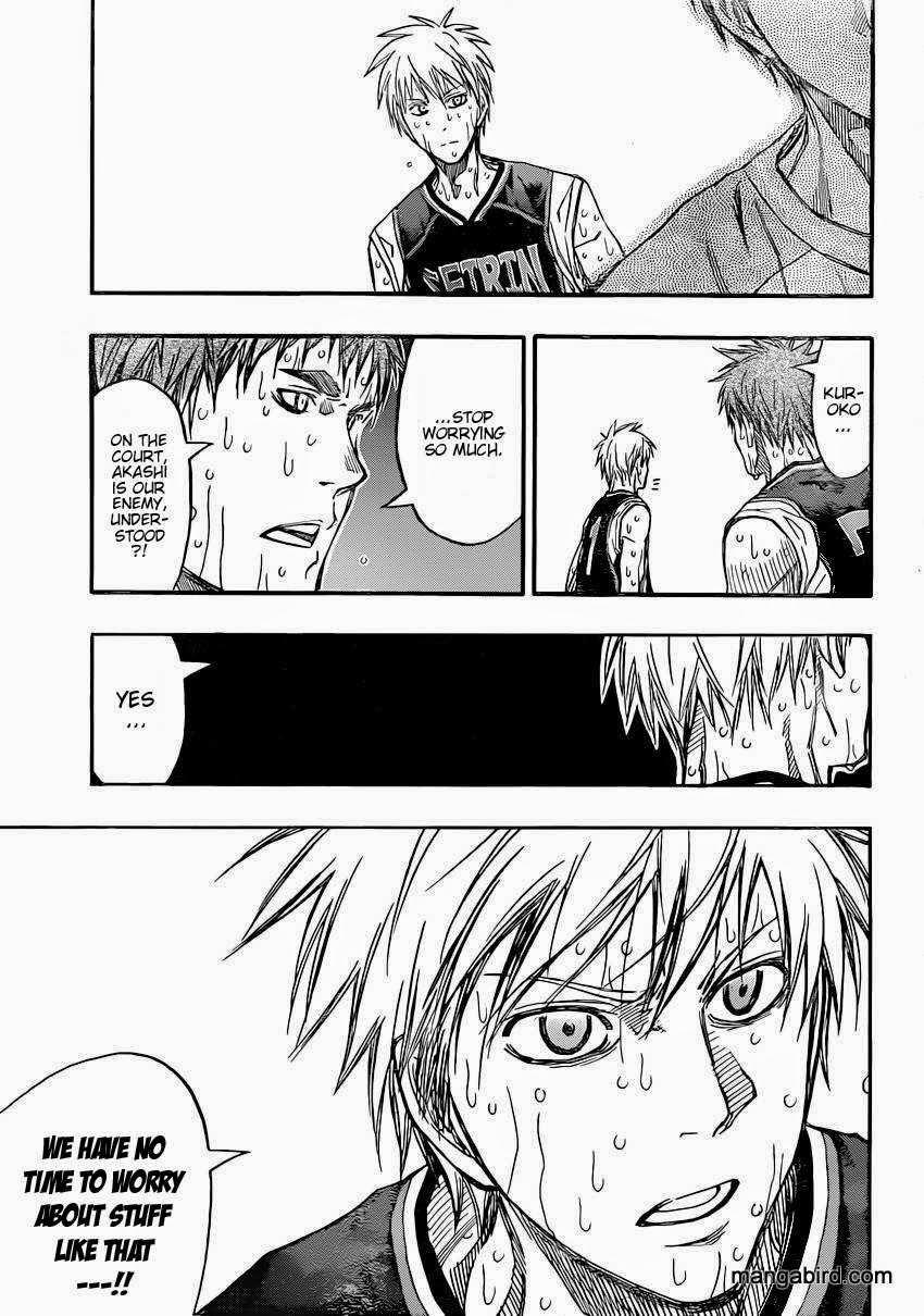 Kuroko no Basket Manga Chapter 265 - Image 13