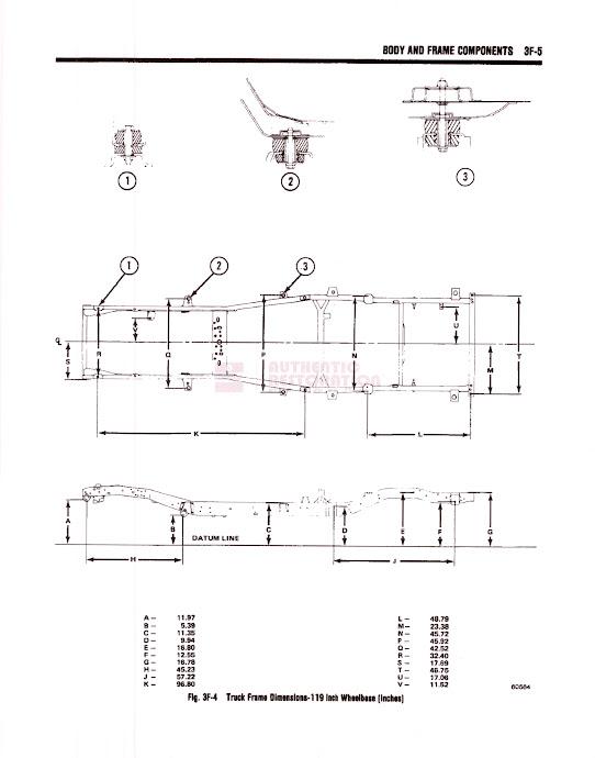 j truck rear cab body mount frame bracket dimensions. Black Bedroom Furniture Sets. Home Design Ideas