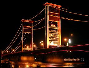 ampera bridge ,yangpentingshare