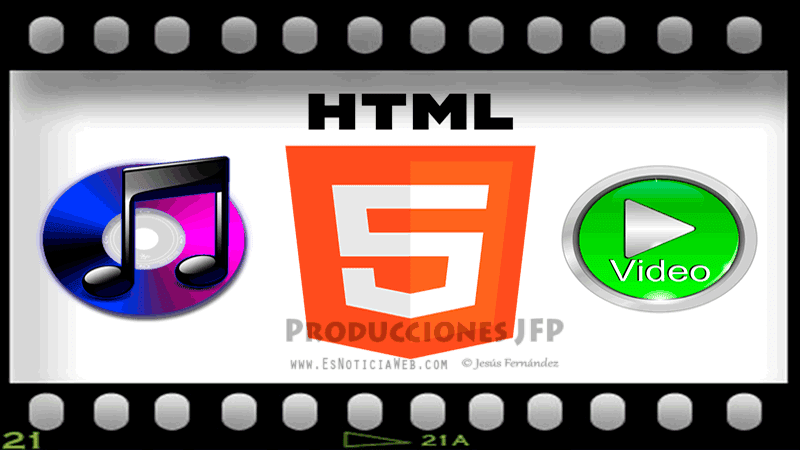 Html5 insertar video y audio