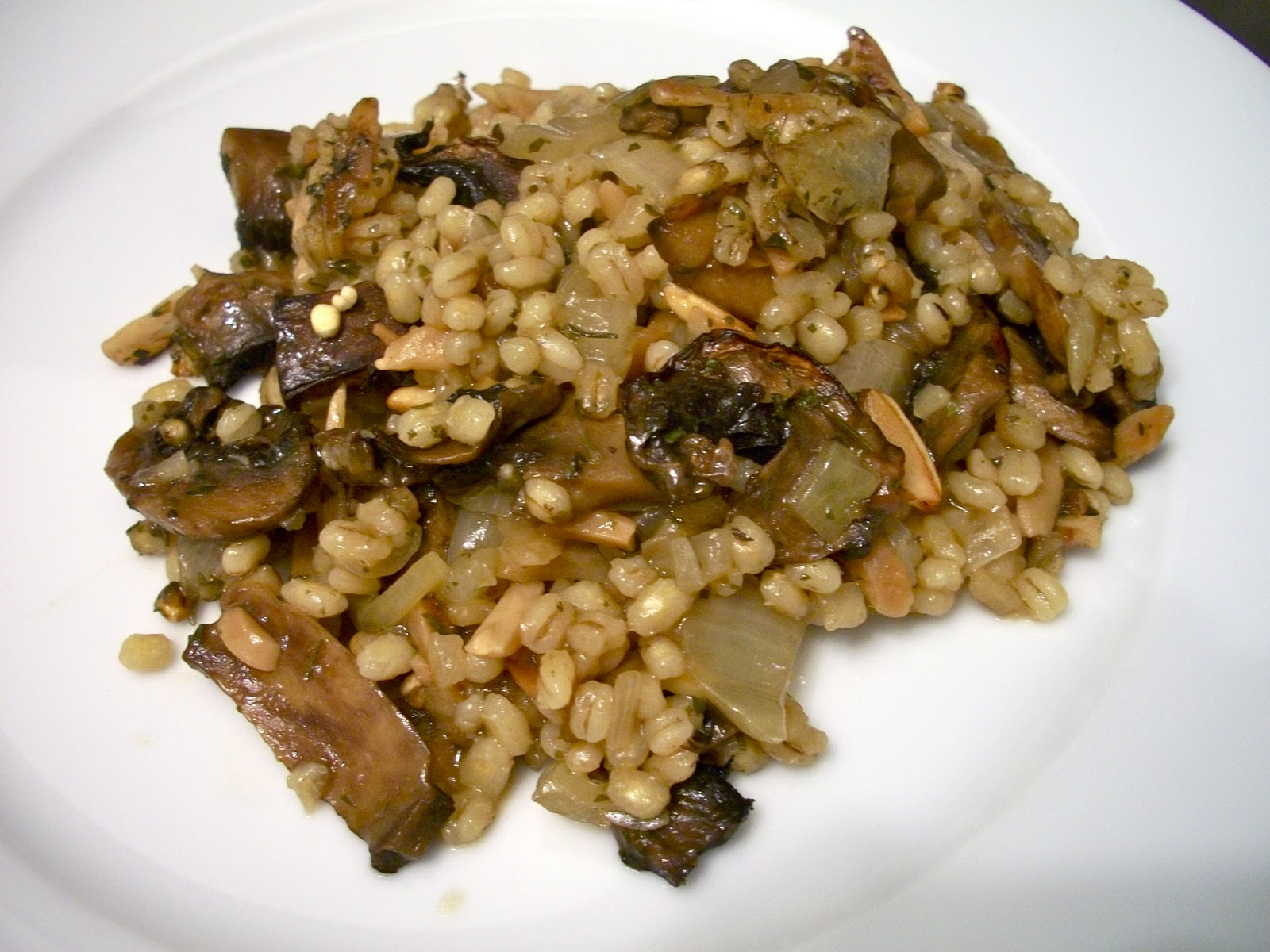 Mushroom And Barley Pie Recipe — Dishmaps