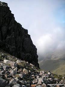 From path to Great Gable
