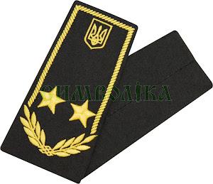 Погони / митна служба/  радник 2 рангу / чорні