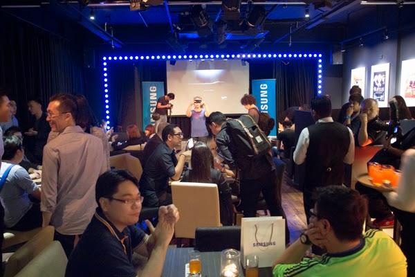 majlis tertutup Samsung GALAXY Unpacked 2015 Live Streaming Party