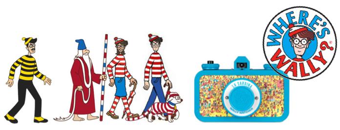 #尋找 Wally 在哪裡:LA SARDINA 相機和你一起在人山人海中揪出威利 ! 1