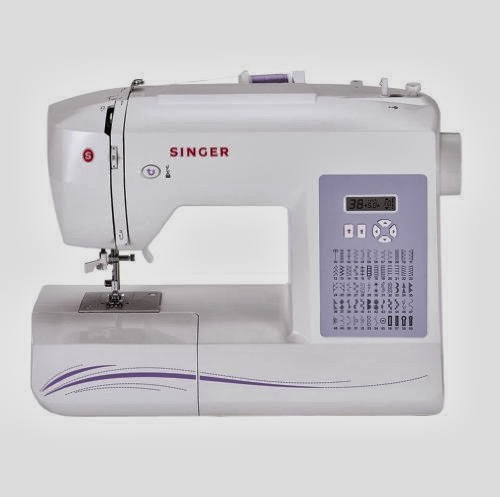 SINGER 6160 Computerized Sewing Machine with Auto Needle Threader