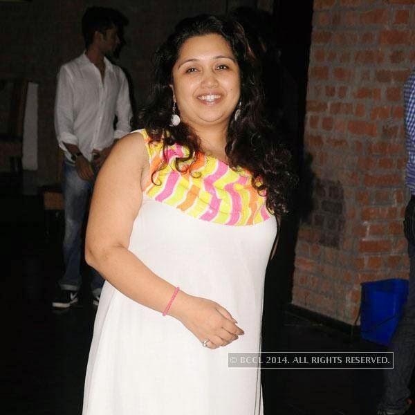 Ketki Arbat during Dr Sameer Arbat's success party at Hotel Travotel in Nagpur.