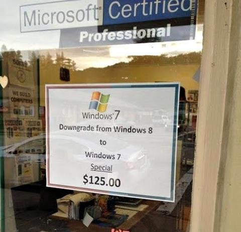 Windows Downgrade