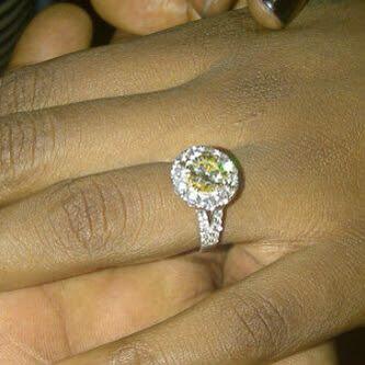 Floyd Money Mayweathers wifes diamond ring Amazing Shantel